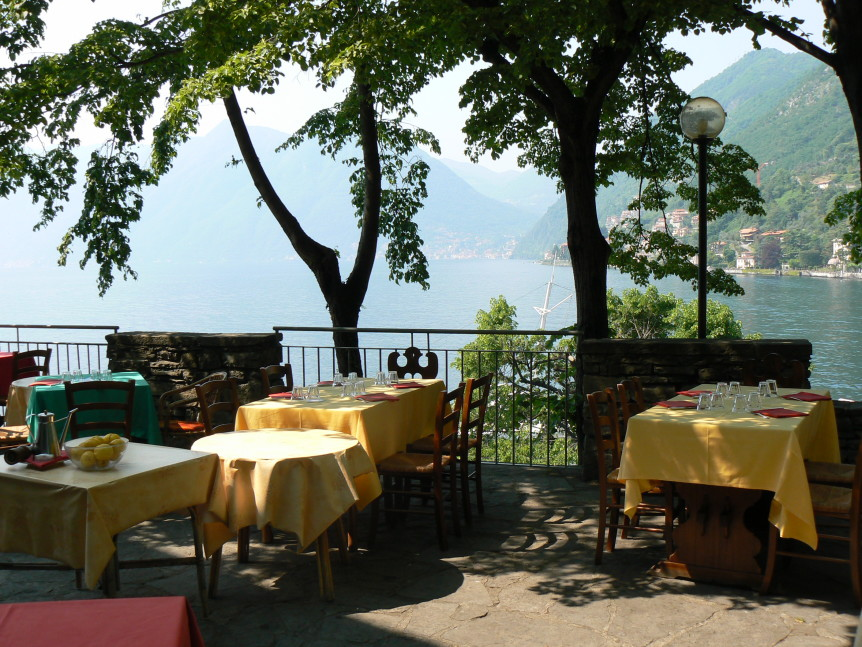 Locanda Dell Isola Comacina Historic Island Restaurant On Lake Como