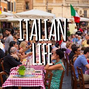 Risultati immagini per italian life