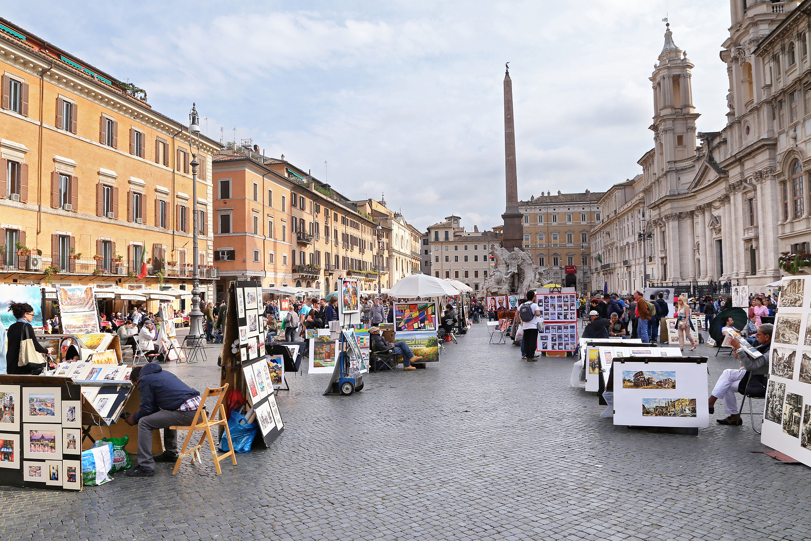 Rome Piazza Navona Christmas Market Dream Of Italy