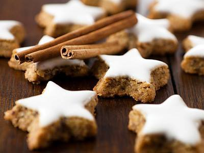 italian christmas cookie recipe cinnamon stars from the dolomites - Italian Christmas Cookies Recipe