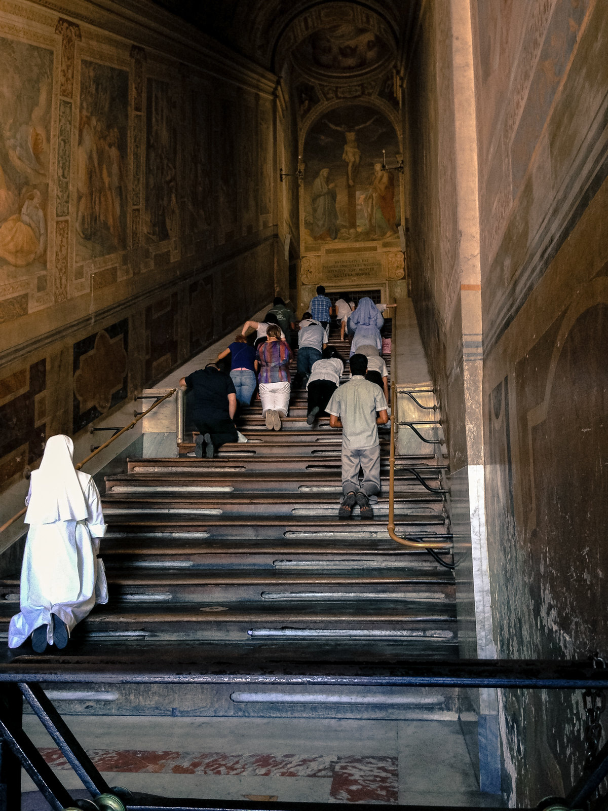Rome S Holy Stairs Restored Uncovered For 60 Days Only